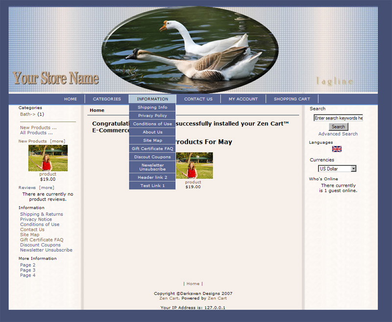 Geese for Zencart - Click Image to Close